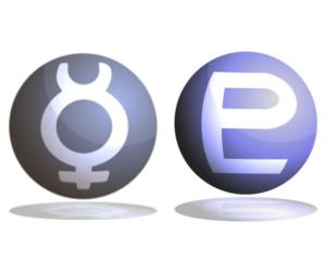 「水星」と「冥王星」のアスペクト!~占星術的な意味~