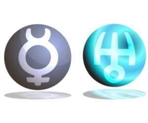 「水星」と「天王星」のアスペクト!~占星術的な意味~
