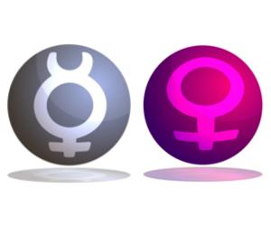 「水星」と「金星」のアスペクト!~占星術的な意味~
