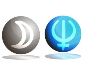 「月」と「海王星」のアスペクト!~占星術的な意味~