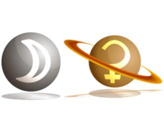 「月」と「土星」のアスペクト!~占星術的な意味~
