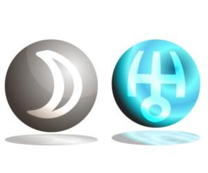 「月」と「天王星」のアスペクト!~占星術的な意味~
