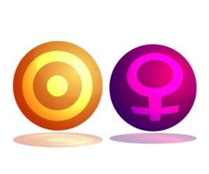 「太陽」と「金星」のアスペクト!~占星術的な意味~