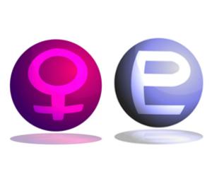 「金星」と「冥王星」のアスペクト(角度)!~占星術的な意味~