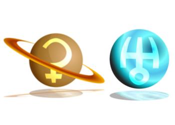 「土星」と「天王星」のアスペクト(角度)!~占星術的な意味~