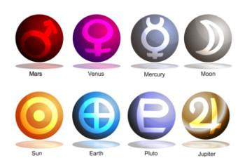 それぞれの惑星の「サインが持つ意味」!占星術ではどんな性質・性格になる?